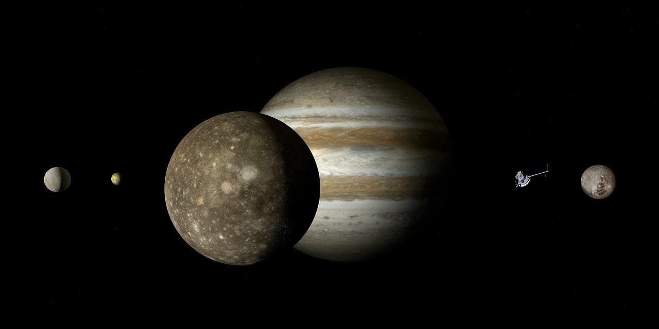 Jowisz i jego ksieżyce
