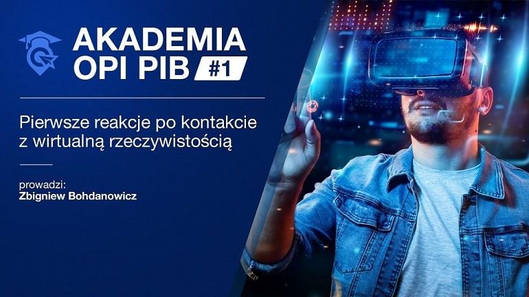 Akademia OPI PIB #1 - plakat baner
