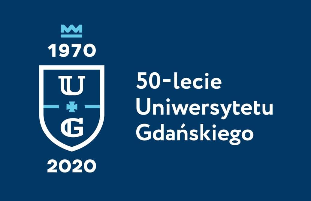 Jubileuszowe logo Uniwersytetu Gdańskiego