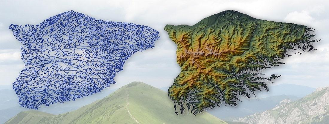 analogia między grafami a masywami górskimi