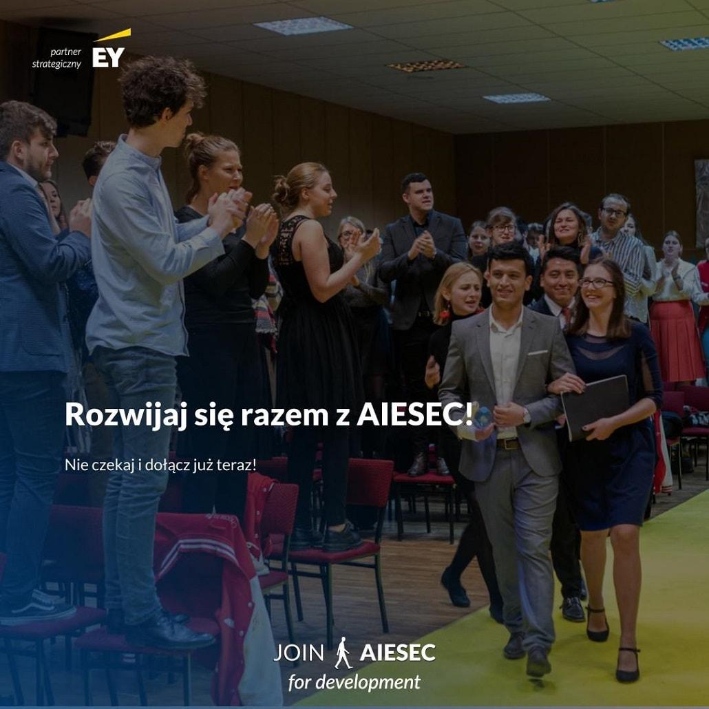 Rekrutacja AIESEC 2020 - plakat