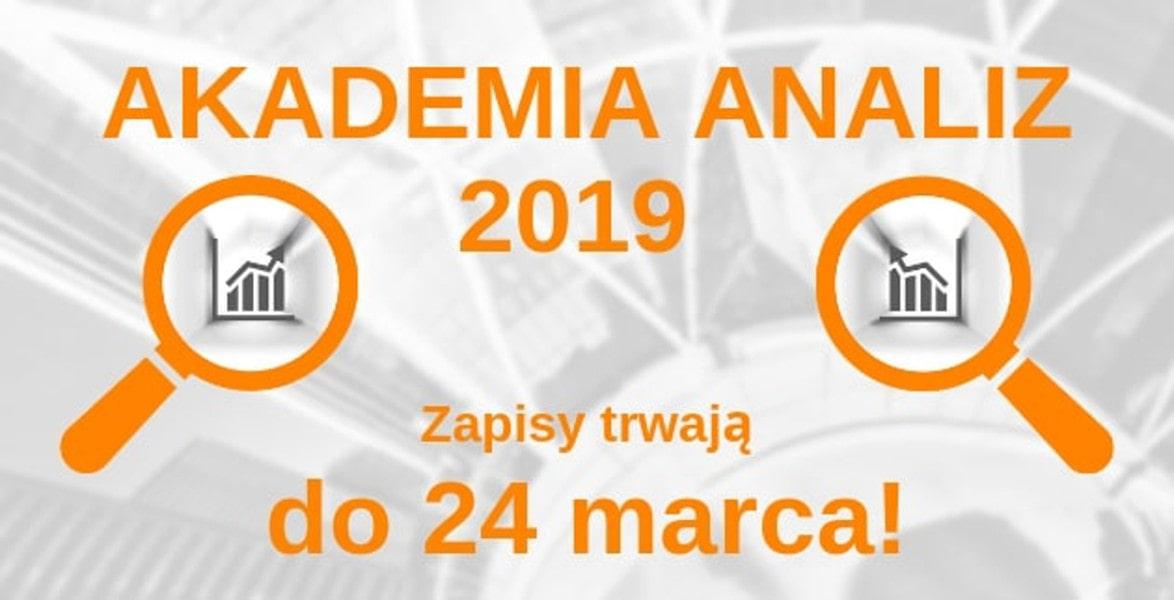 Zobacz, na czym polega konkurs Akademia Analiz 2019!