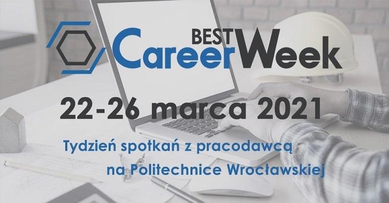 BEST Career Week 2021 - plakat baner