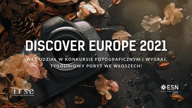 Discover Europe 2021 - plakat baner