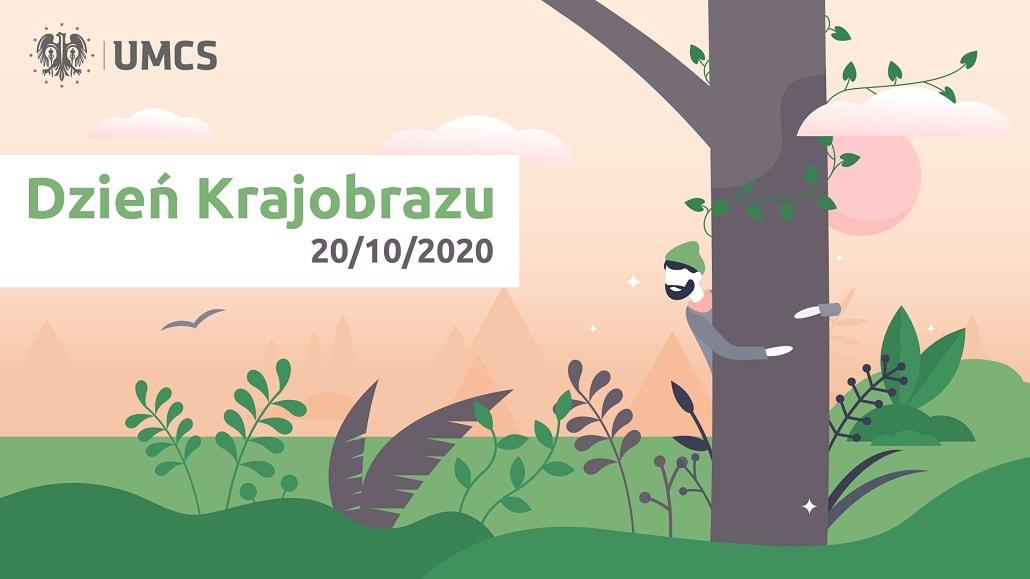 Międzynarodowy Dzień Krajobrazu 2020 UMCS - baner