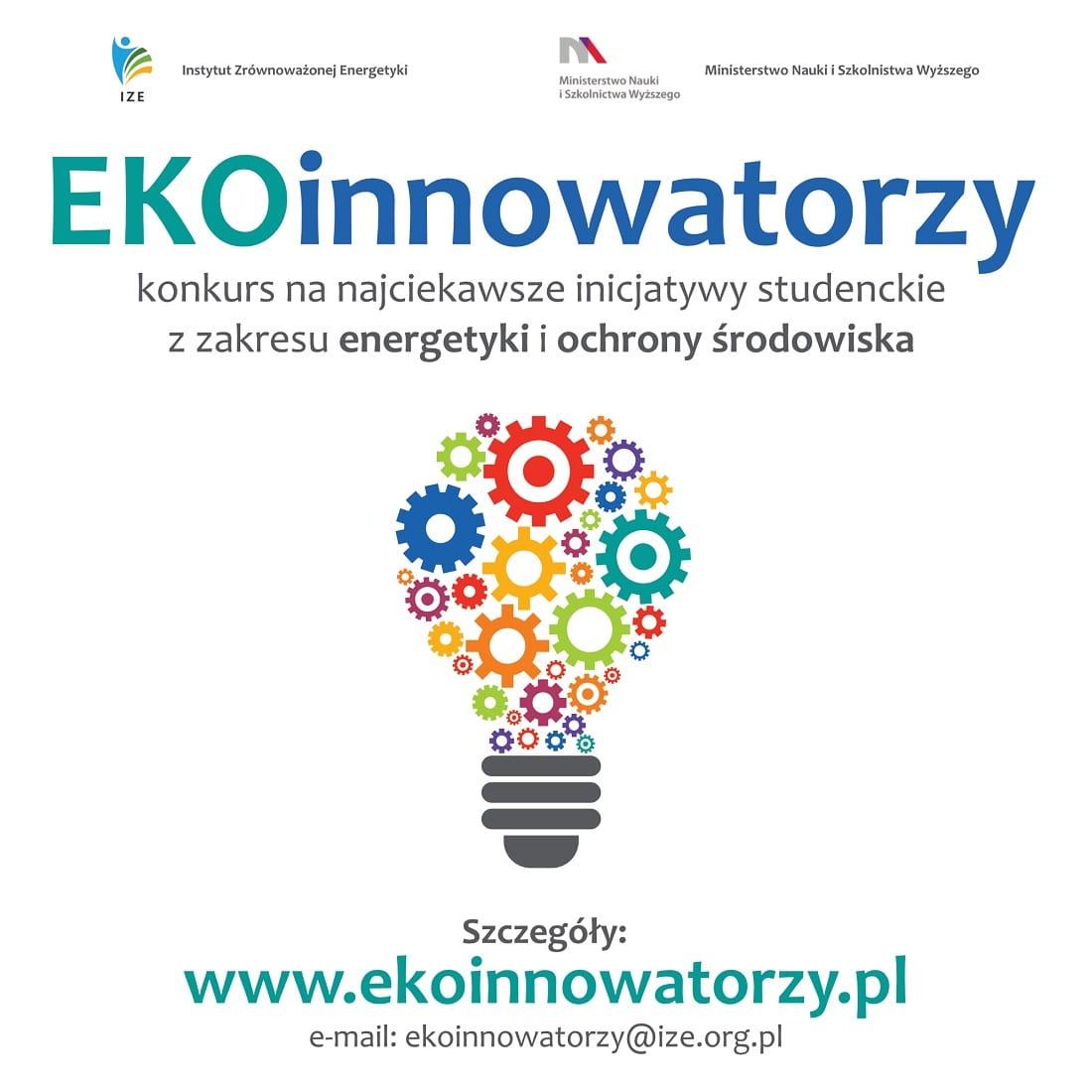Plakat konkursu Ekoinwestorzy 2019