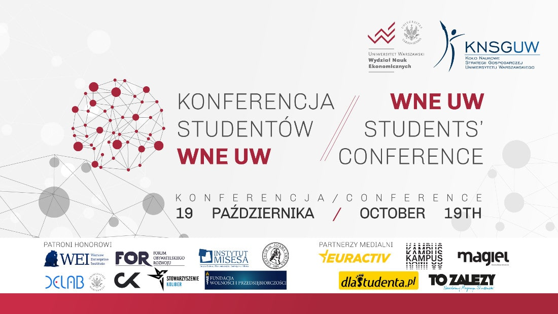 Konferencja odbędzie się dnia 19 października 2018 roku.
