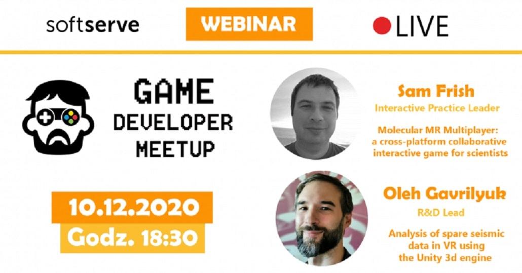Game Developer Meetup Poland #1 - baner
