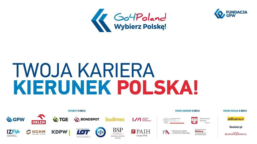 Baner informujący o odbyciu się konferencji Go4Poland 2020