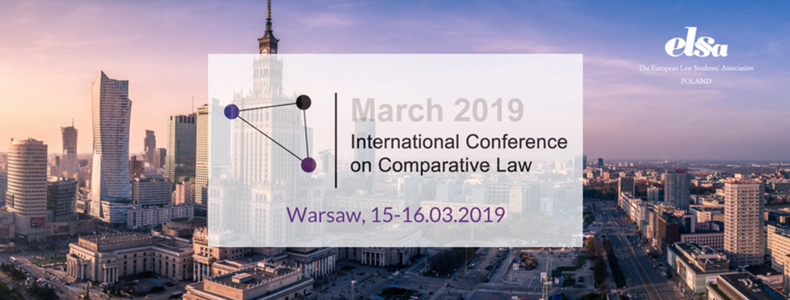 Konferencja odbędzie się w dniach 15-16 marca 2019 roku.