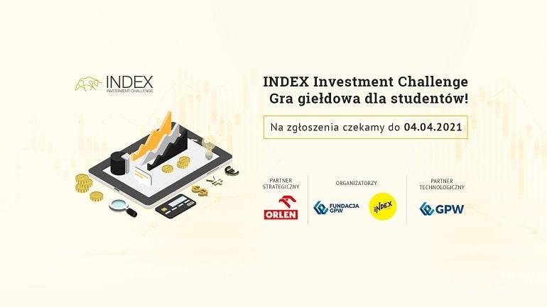 INDEX Investment Challenge 2021 - baner plakat
