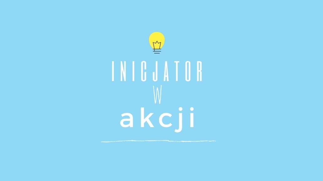 Logo akcji Inicjator w Akcji