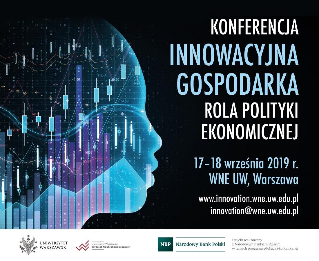 Innowacje gospodarcze 2019 plakat