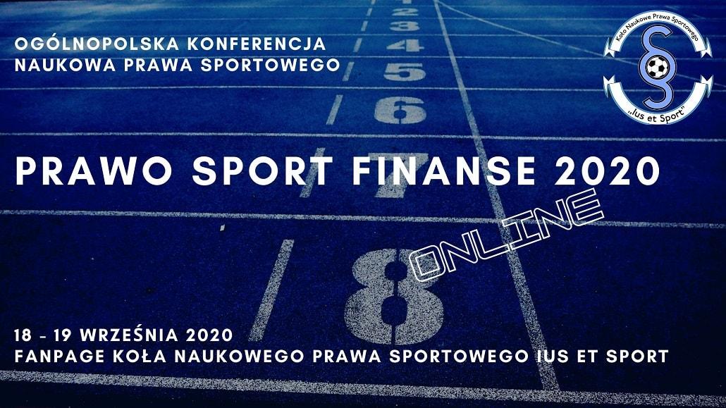 Ius Et Sport 2020 plakat