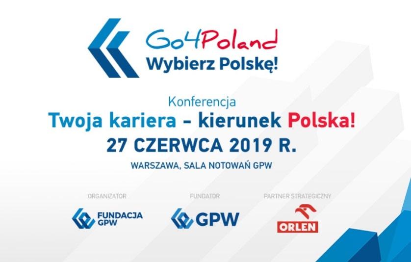 plakat konferencji go4poland