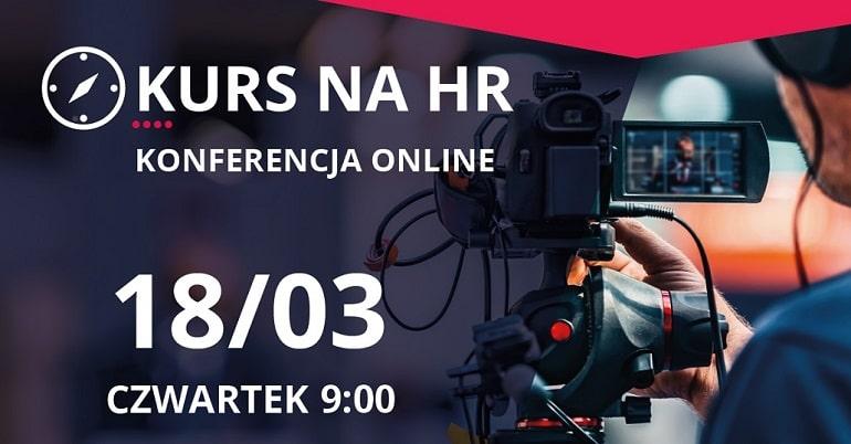 Kurs na HR 2021 - baner infomracyjny plakat