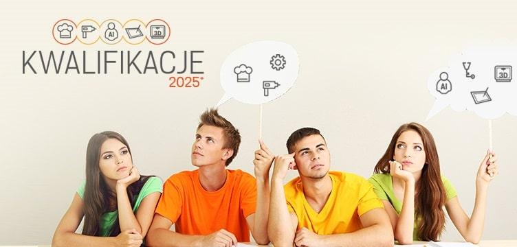 Kwalifikacje 2025+ - baner plakat