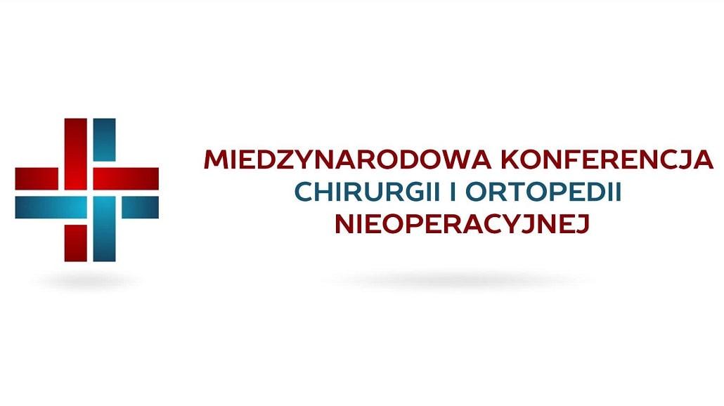 Międzynarodowa Konferencja Chirurgii i Ortopedii Nieoperacyjnej logo