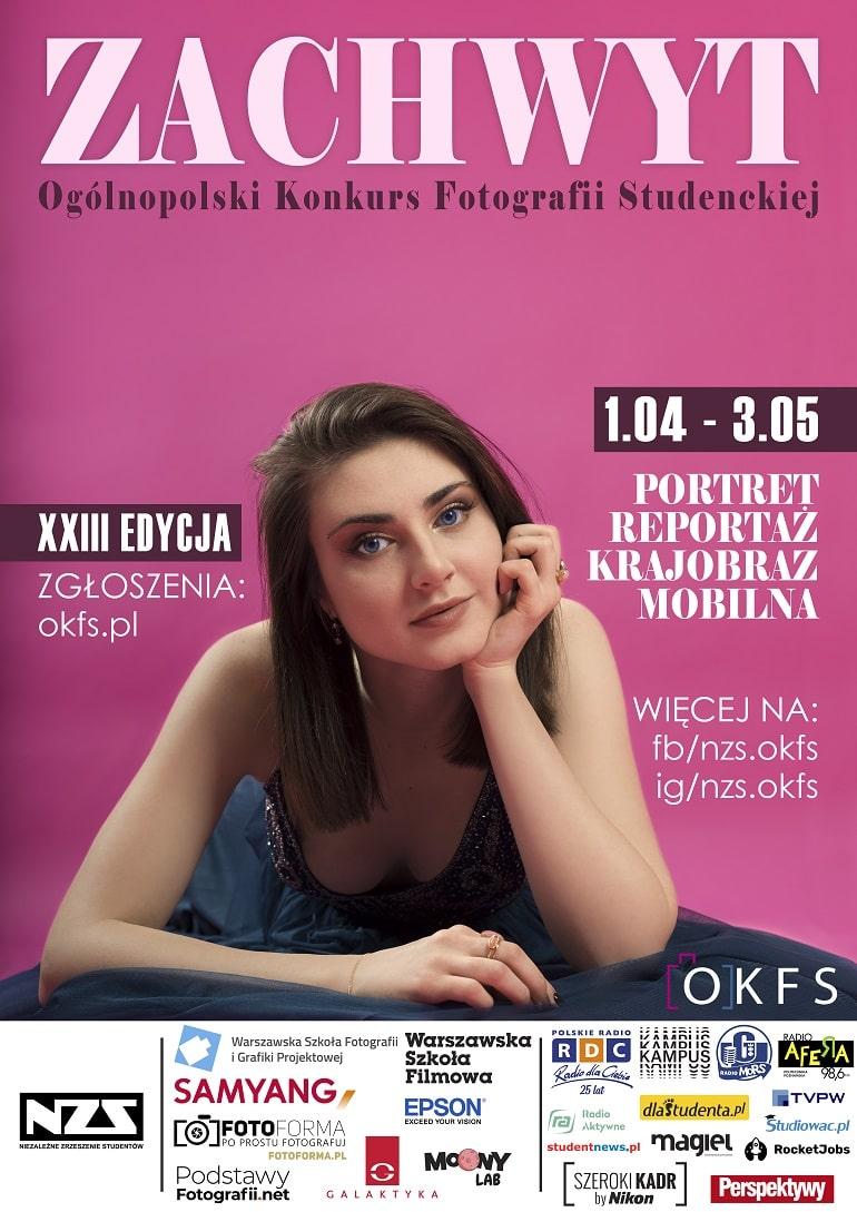 Ogólnopolski Konkursu Fotografii Studenckiej 2021 - plakat