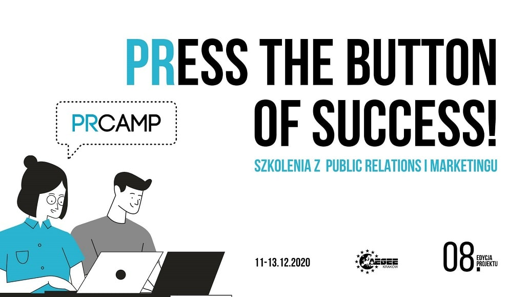 PR Camp edycja 2020 - baner