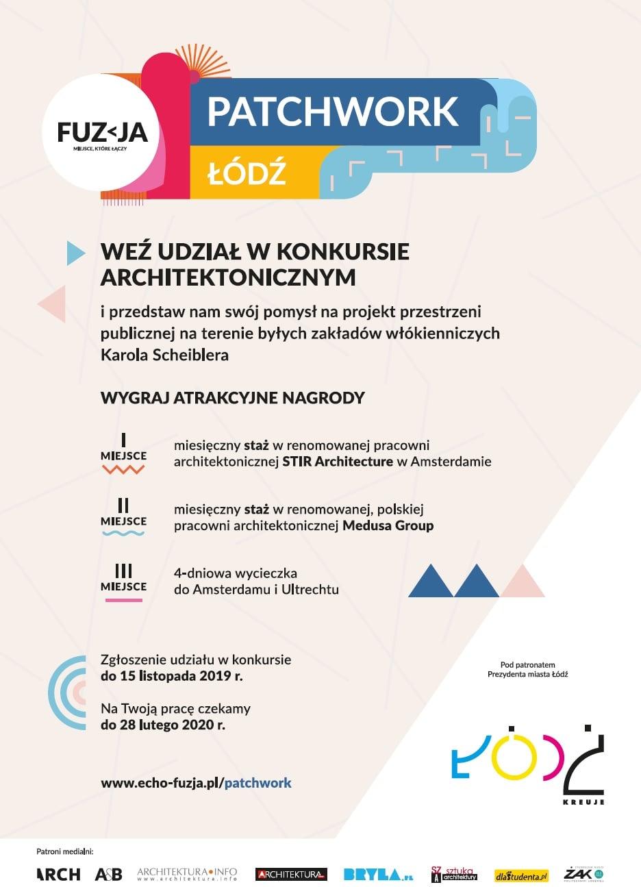 Pakat konkursu Patchwork Łódź