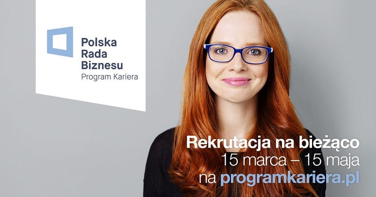 Program Kariera Polskiej Rady Biznesu 2021 - plakat / baner