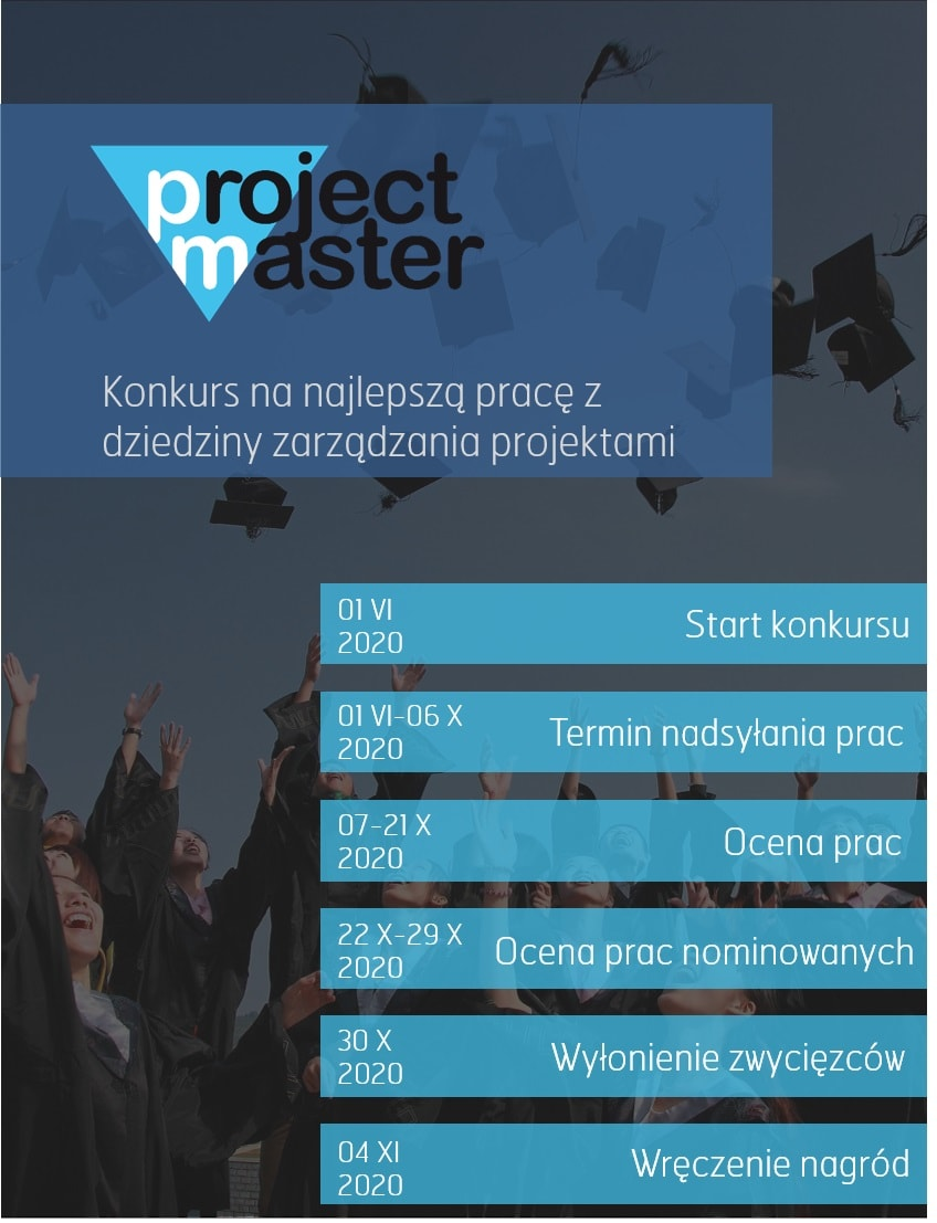 Project Master 2020 plakat