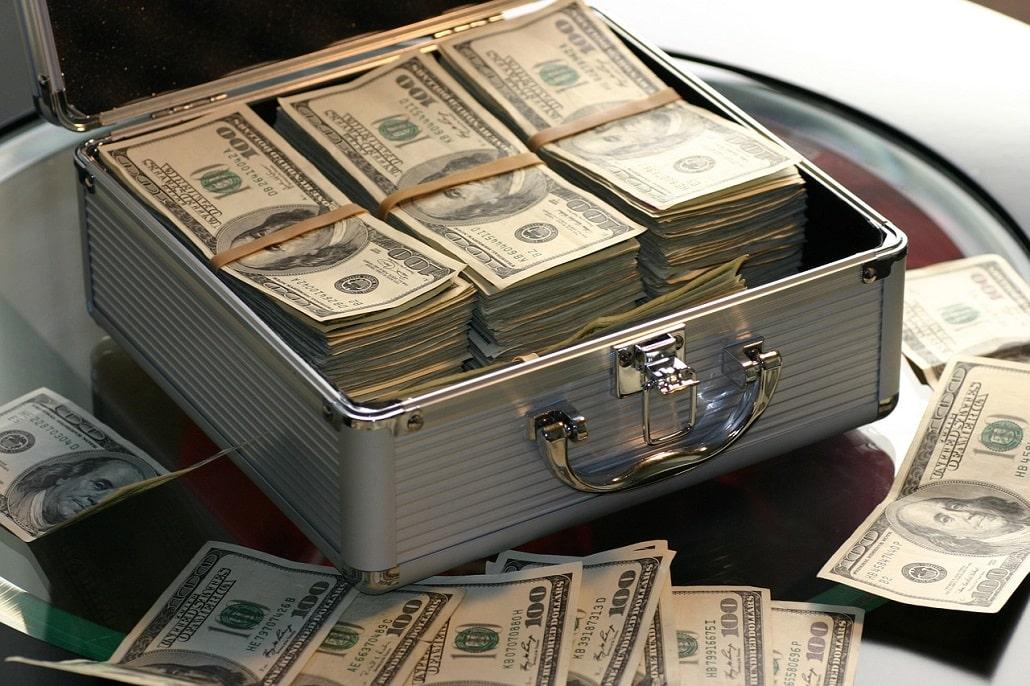 Pieniądze w walizce