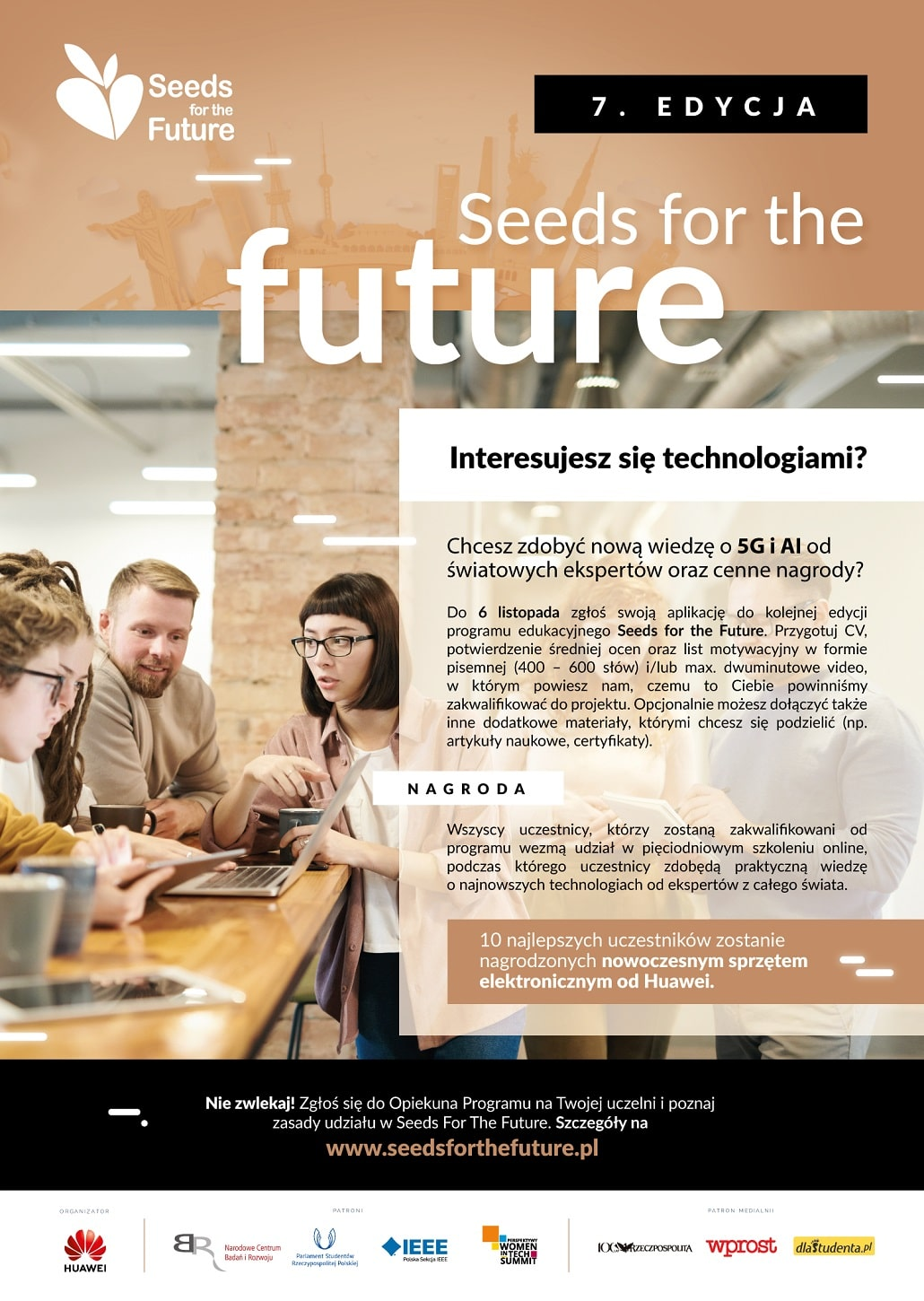 Konferencja Seeds for the Future 2020 - plakat