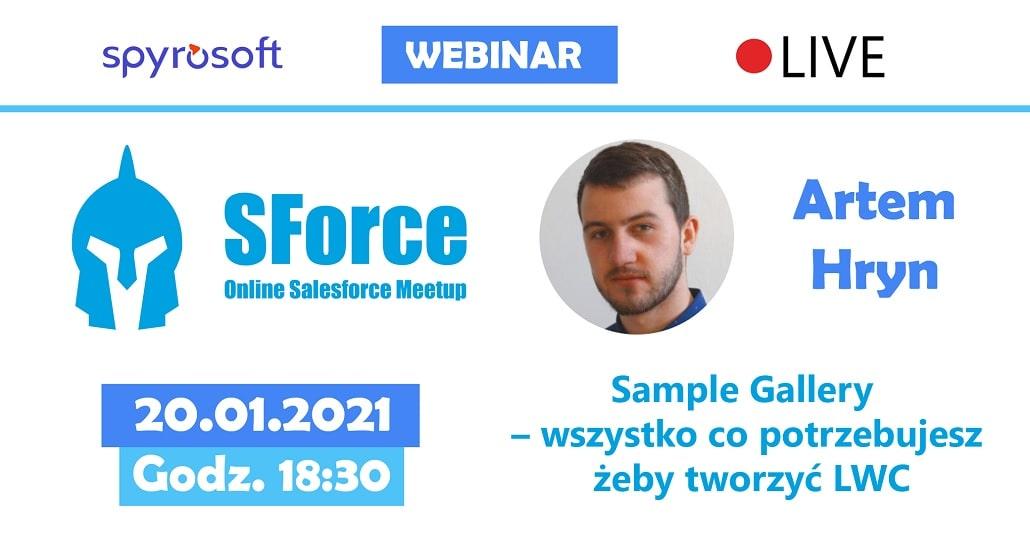SForce - Online Salesforce Meetup #11 - baner plakat