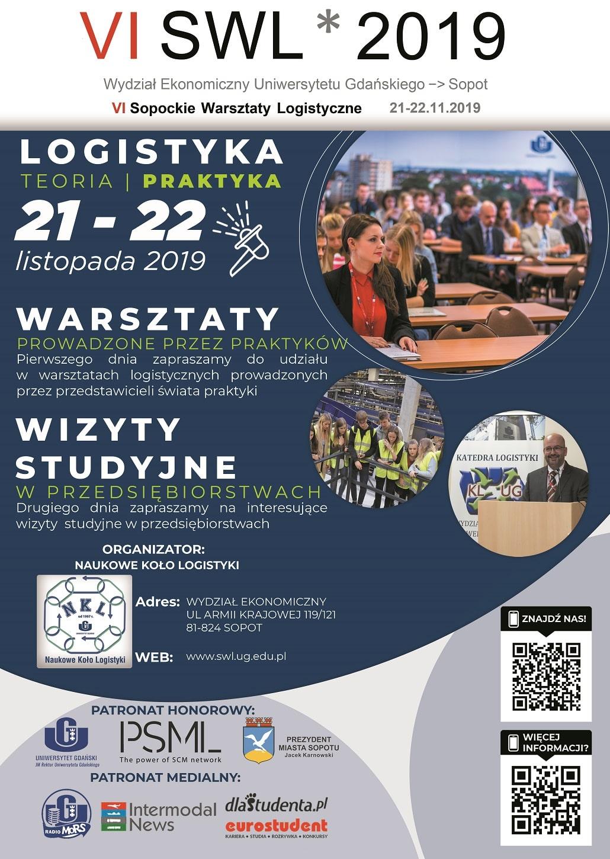 Sopockie Warsztaty Logistyczne 2019 plakat