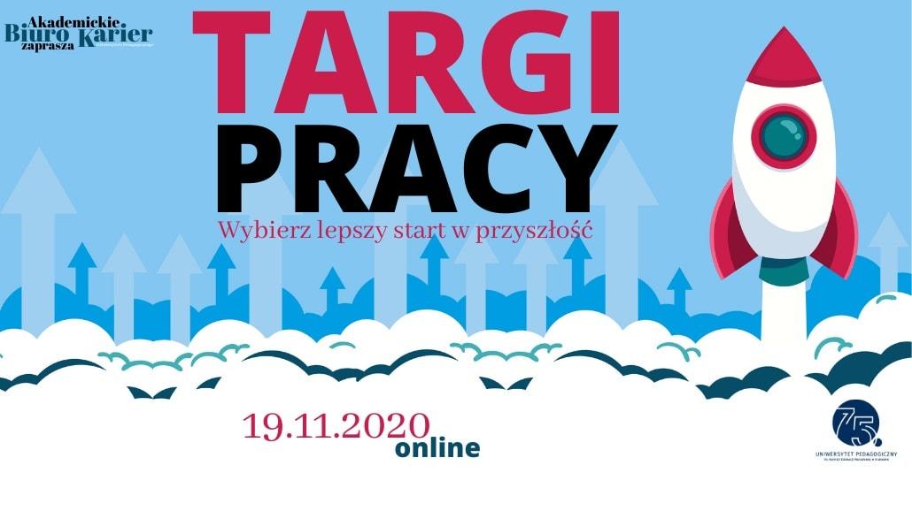 Targi pracy UP w Krakowie 2020 - baner