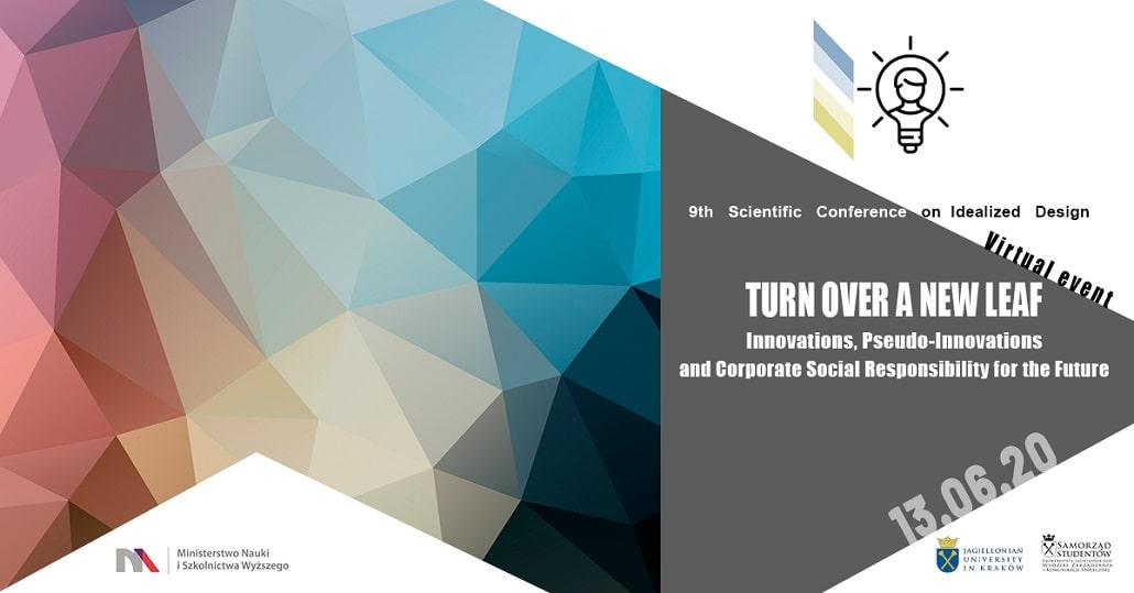 Konferencja Turn Over a New Leaf 2020 plakat