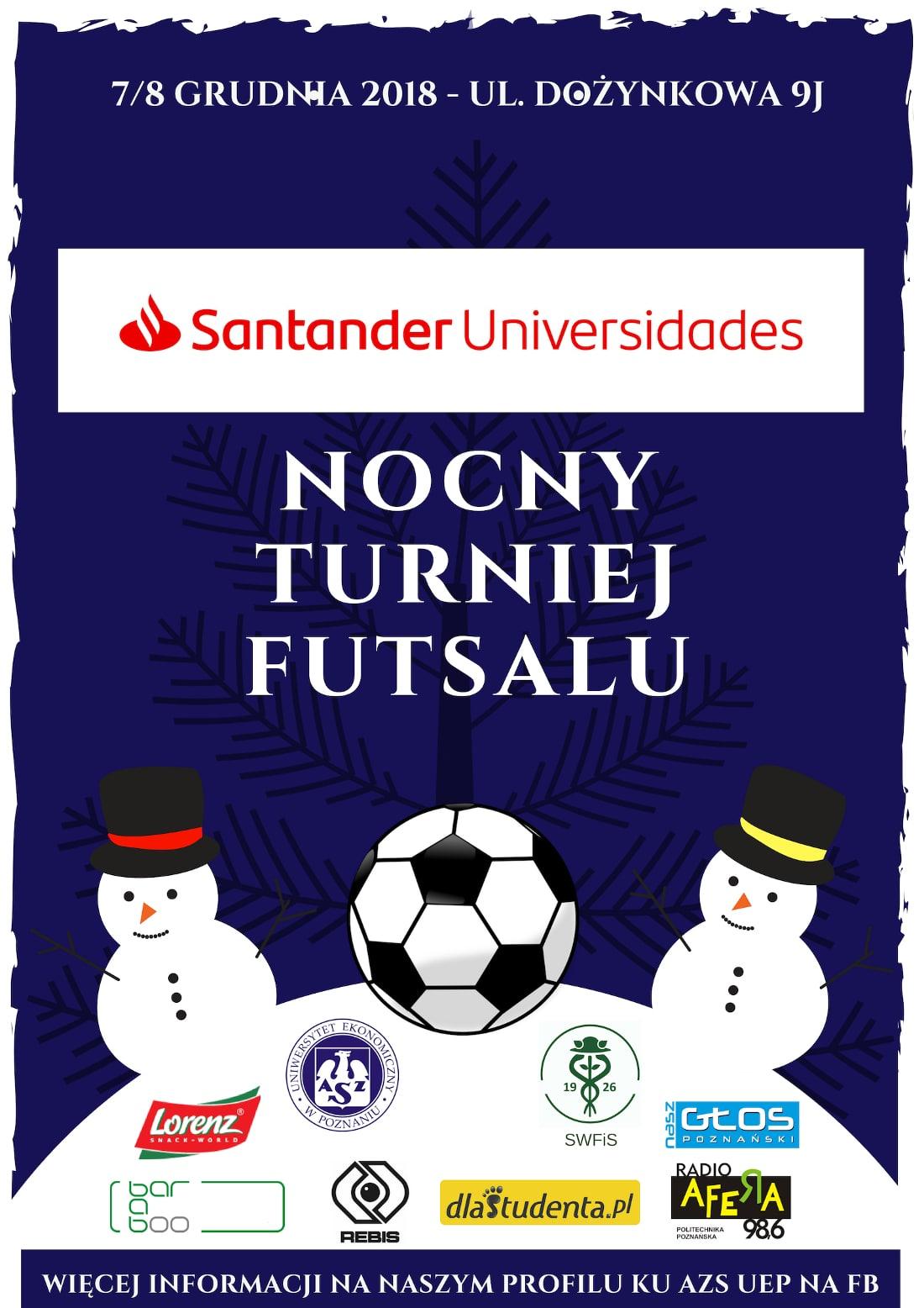 Turniej odbędzie się 7 grudnia 2018 roku.