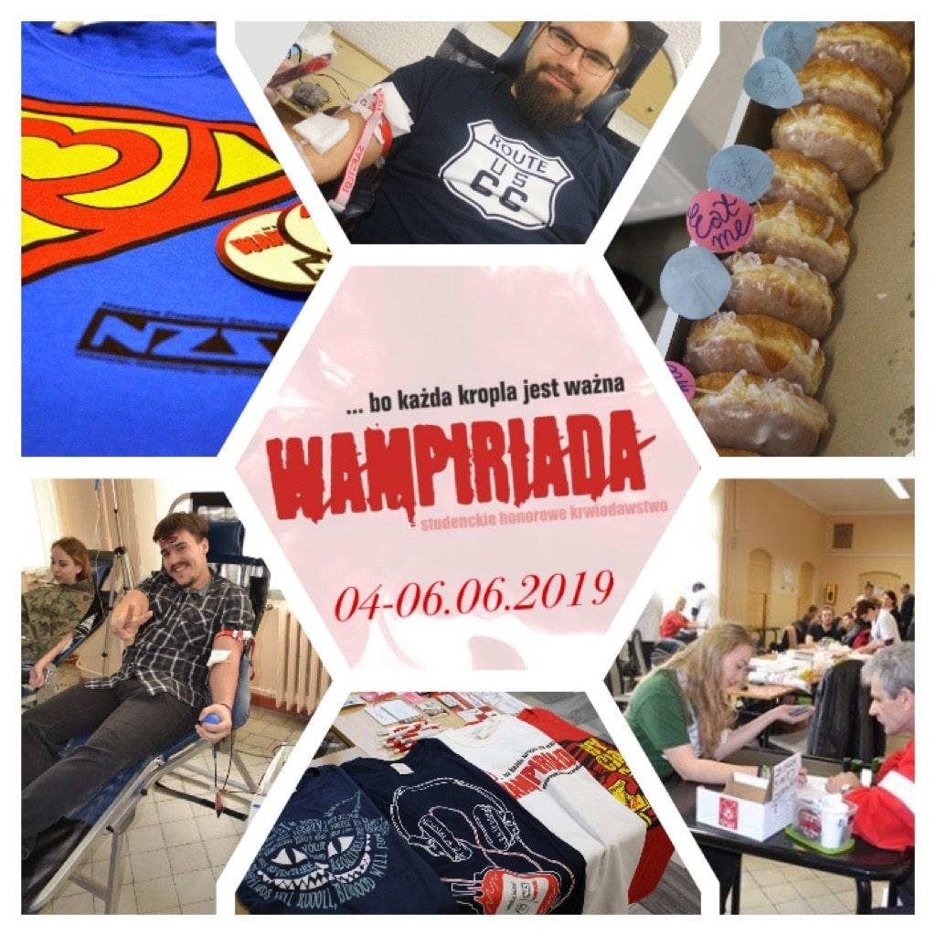 Wampiriada 2019 Wrocław Plakat