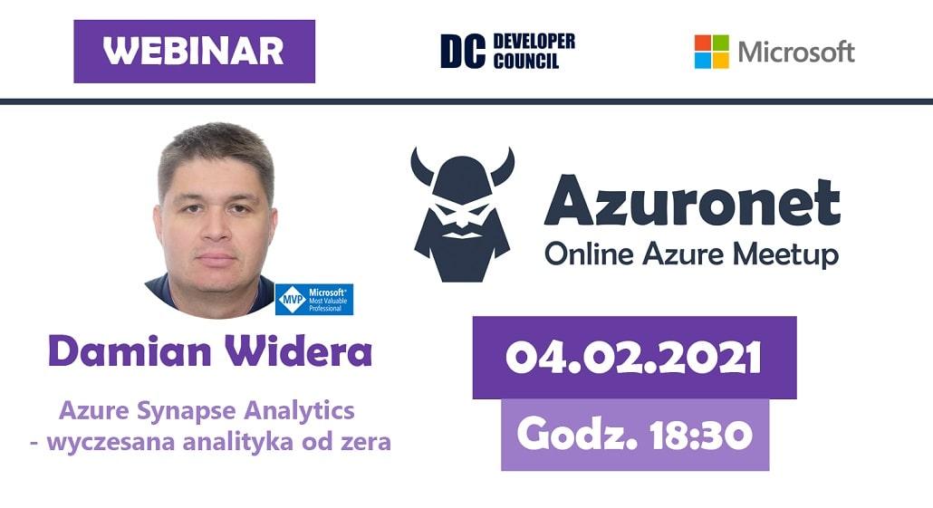Azuronet - Online Azure Meetup #17 - plakat