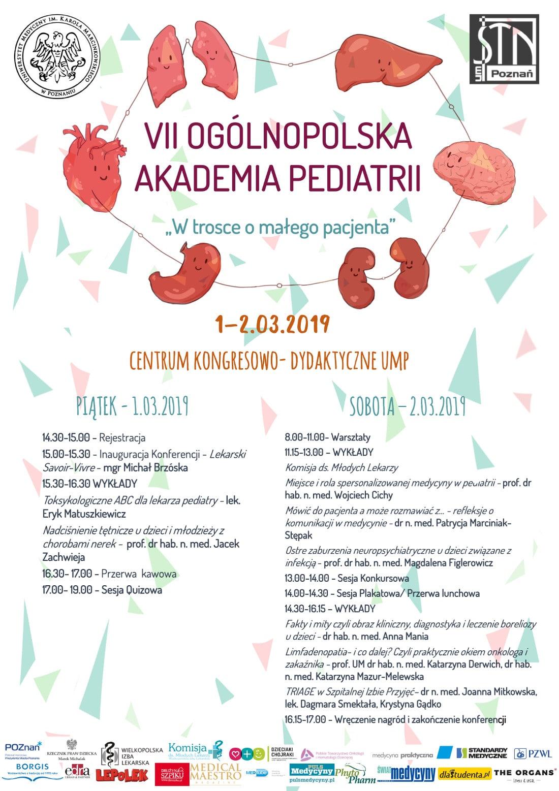 Konferencja odbędzie się w dniach 1-2 marca 2019 roku.