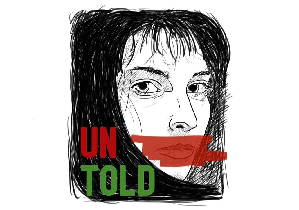 (UN)TOLD logo projektu