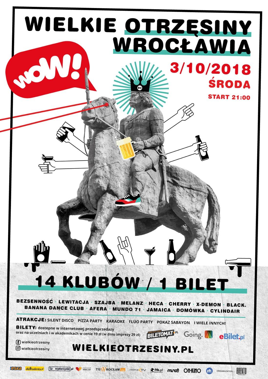 13. edycja klubowego festiwalu wystartuje 3 października.