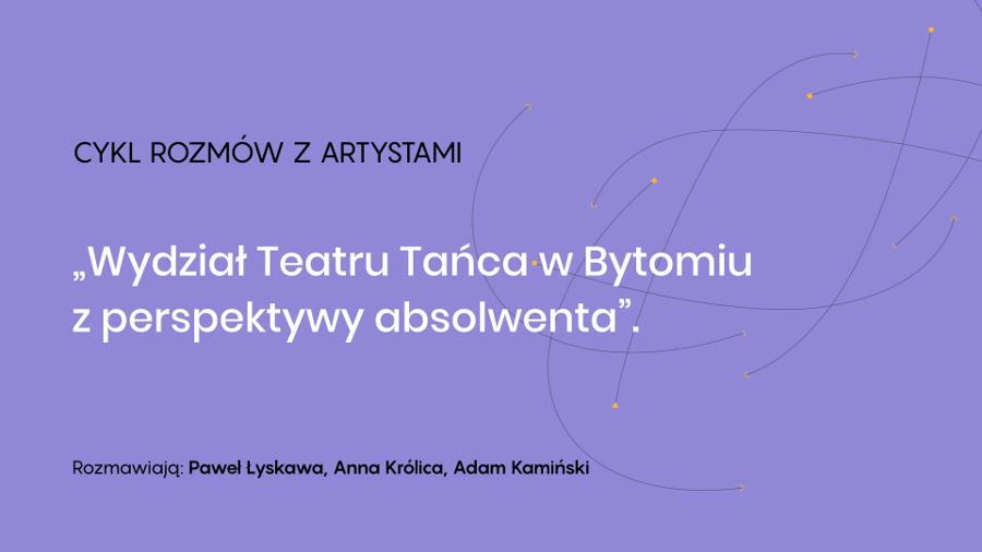 spotkanie online z Pawłem Łyskawą
