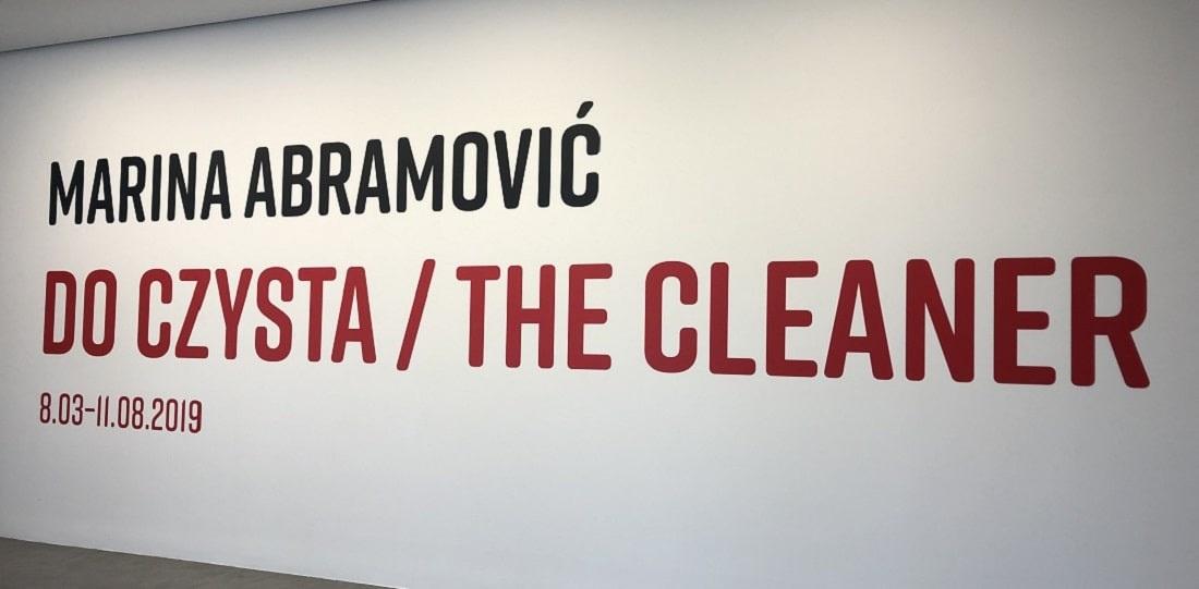 The Cleaner / Do czysta wystawa Mariny Adamowić w Toruniu