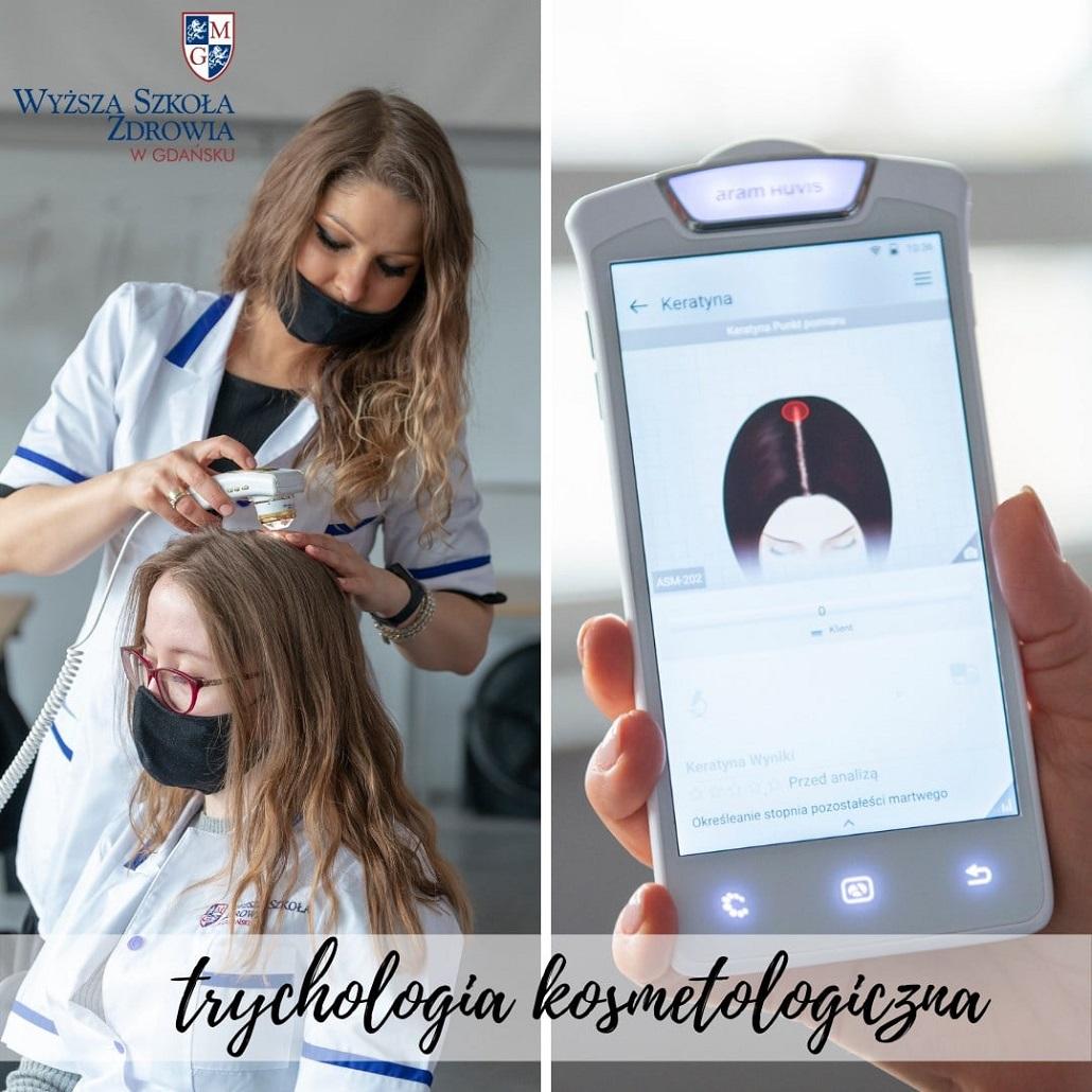 Trychologia kosmetyczna- studia