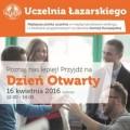 Łazarski zaprasza na Dzień Otwarty - dzień otwarty, uczelnia łazzarskiego, warszawa