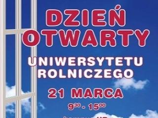 Dzień otwarty Uniwersytetu Rolniczego - dni otwarte, uniwersytet rolniczy, kraków