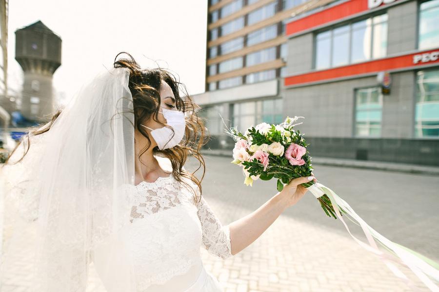 Ślub w czasie koronawirusa