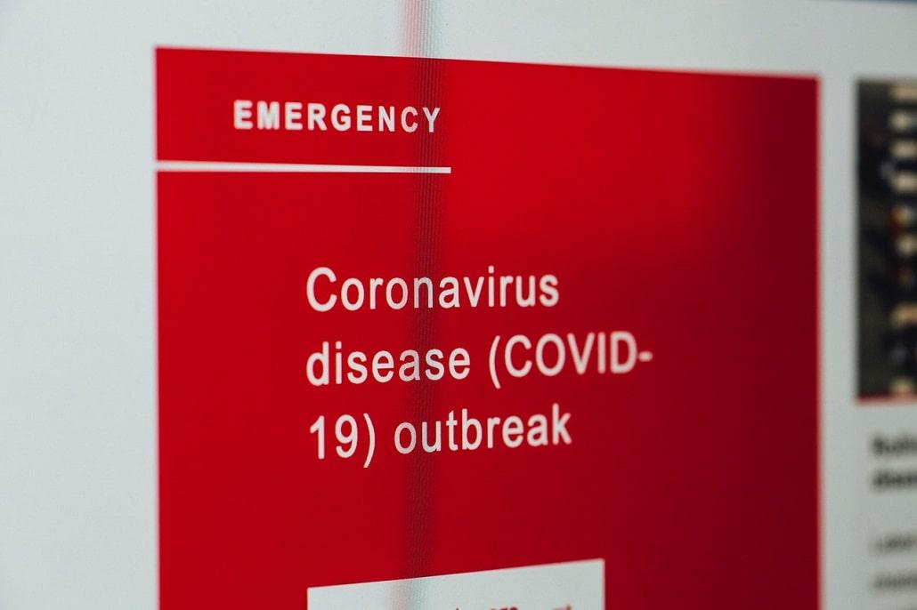 Ostrzeżenie o COVID-19