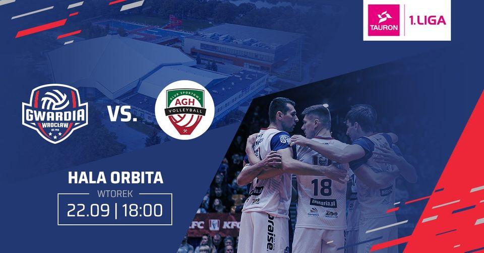 Gwardia Wrocław vs. AZS AGH Kraków