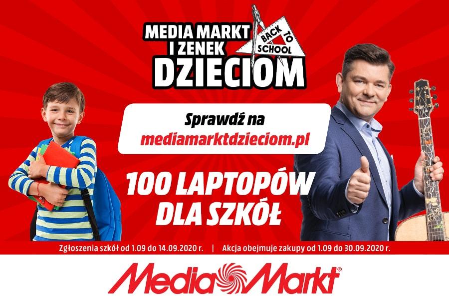 MediaMarkt i Zenek Dzieciom