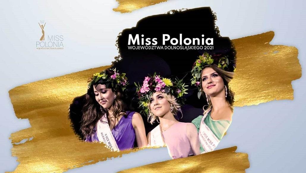 Miss Polonia Dolnegośląska 2021 - baner infomracyjny