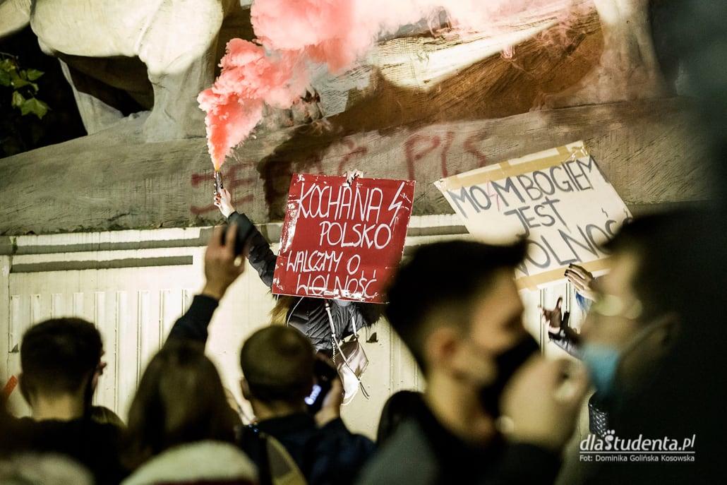 Zdjęcie ze Strajku Kobiet we Wrocławiu